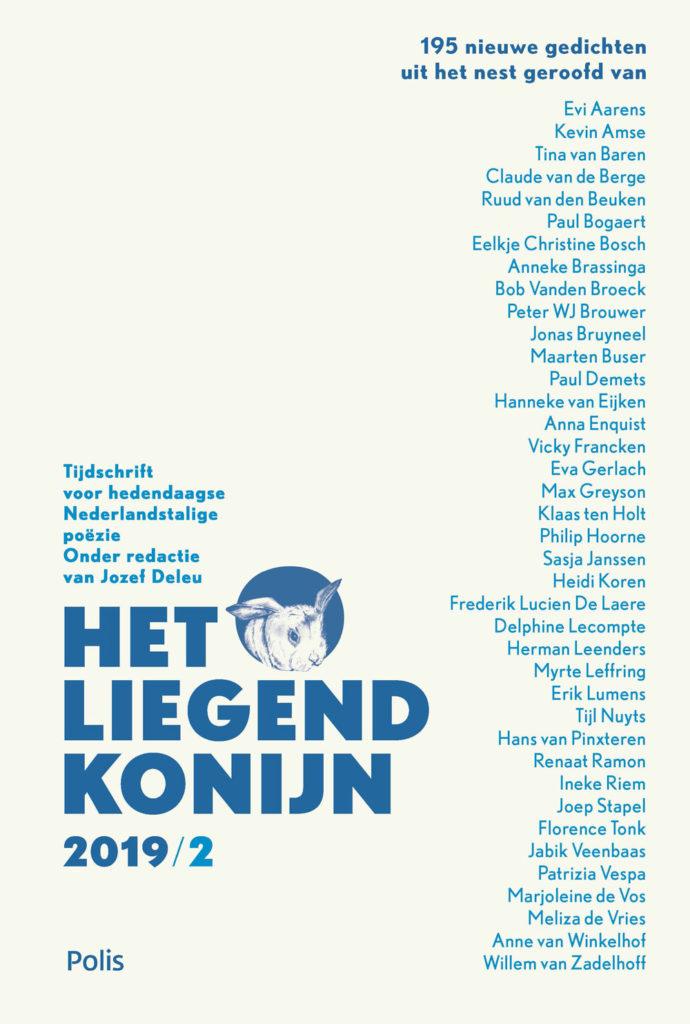 Het Liegend Konijn Tijdschrift voor hedendaagse Nederlandstalige poëzie onder redactie van Jozef Deleu